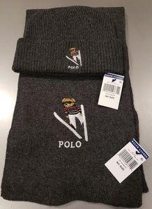 Polo Ralph Lauren Polo Bear beanie and scarf set